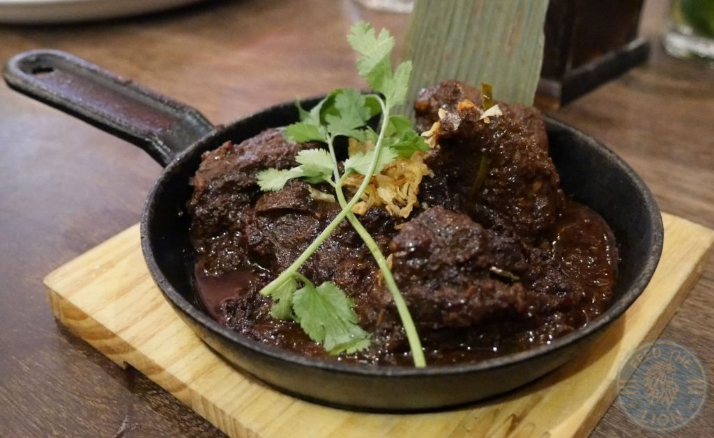 Beef Rendang Banana Tree IndoChinese Halal Bayswater restaurant London