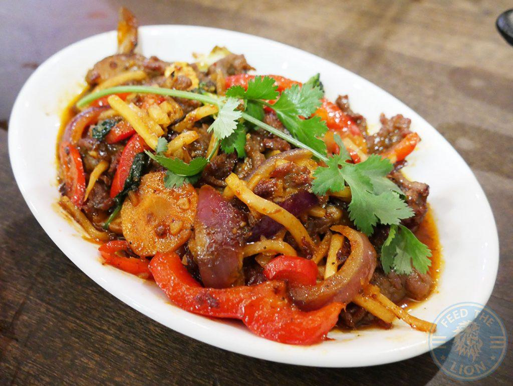 Stir Fry Banana Tree IndoChinese Halal Bayswater restaurant London