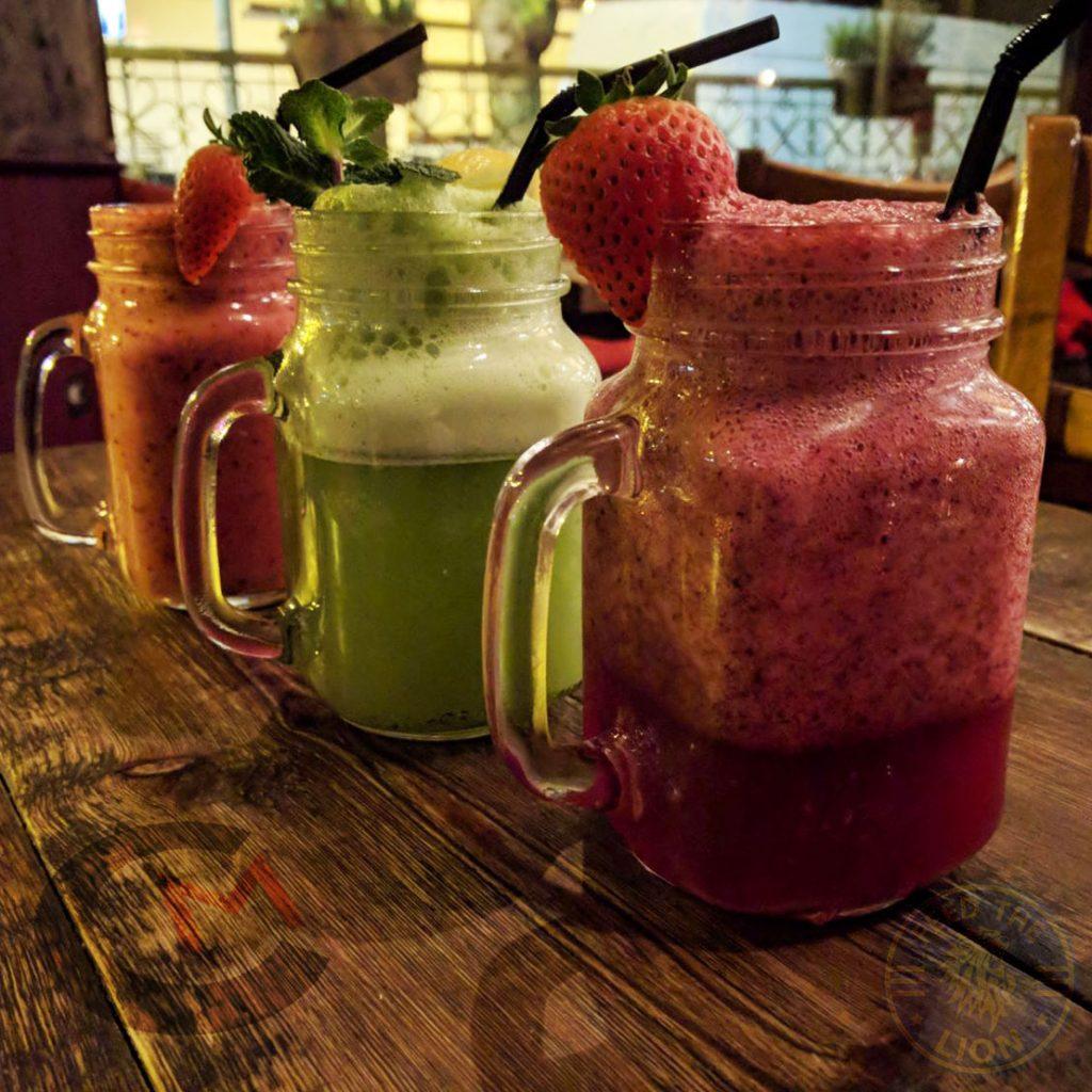 drinks juices Comptoir Mezze grill Moroccan Kensal Rise Green London Halal