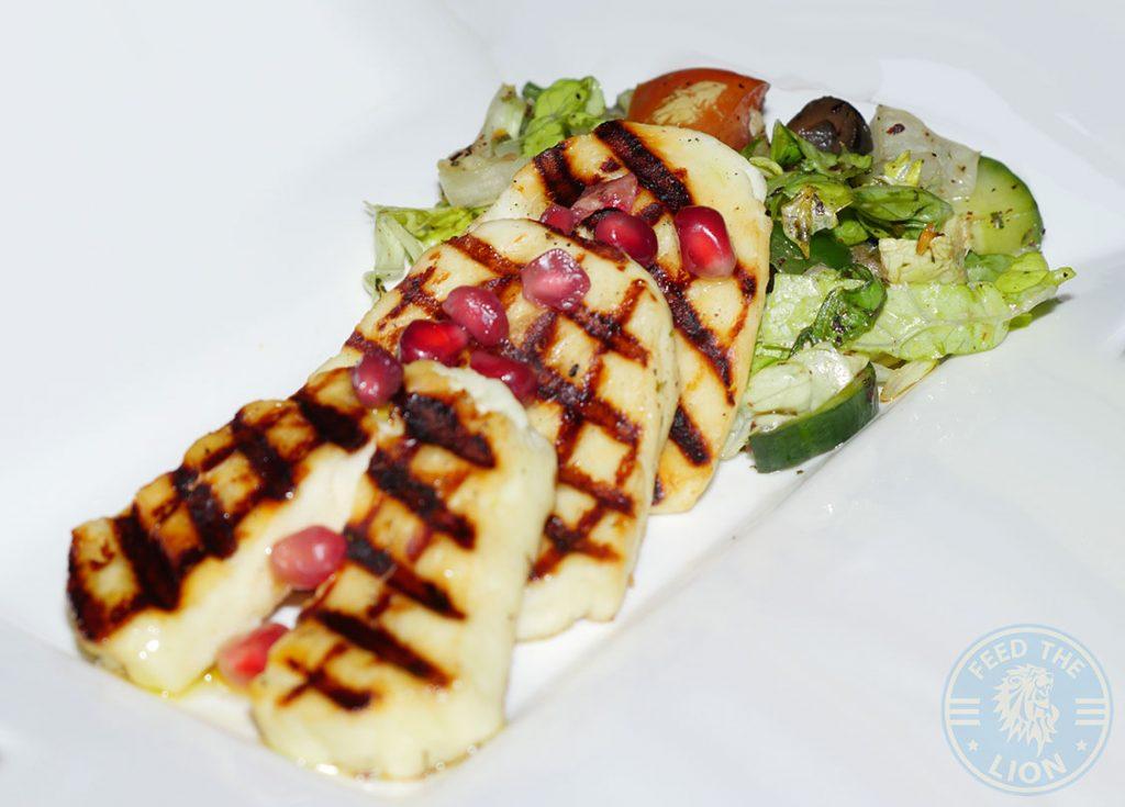 Comptoir Mezze grill Moroccan Kensal Rise green London Halal Grilled Haloumi Steak
