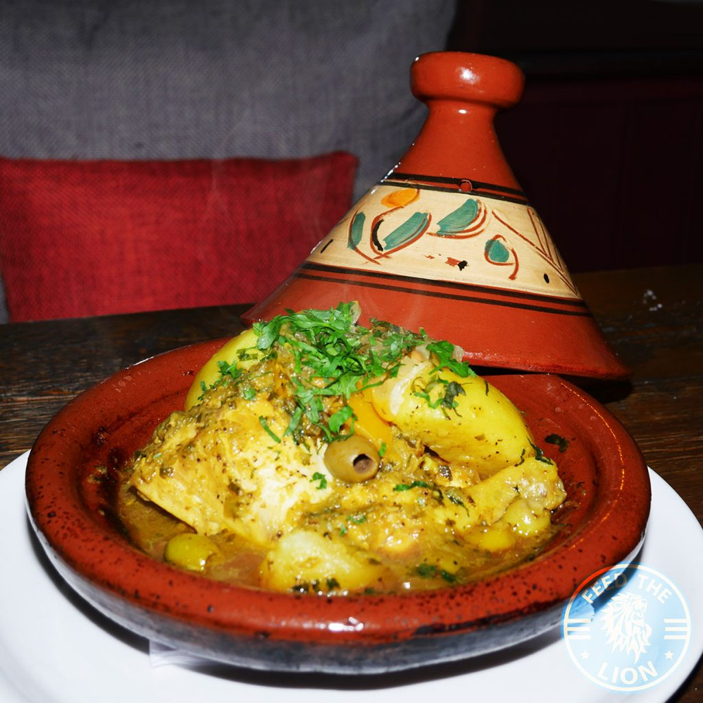 Tagine chicken Comptoir Mezze grill Moroccan Kensal Rise green London Halal