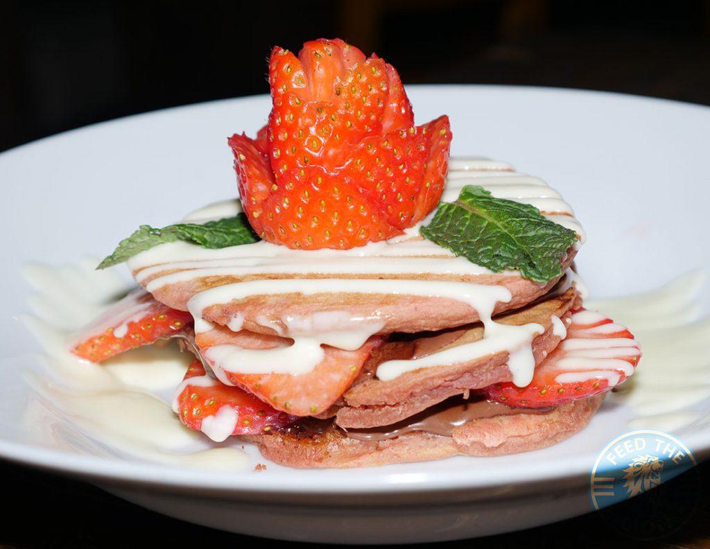 vegan pancake dessert Comptoir Mezze grill Moroccan Kensal Rise green London Halal