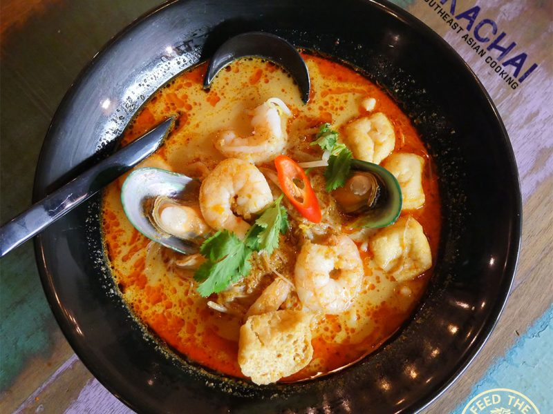 Ekachai South East Asian Kings Cross Chinese halal restaurant noodle curry