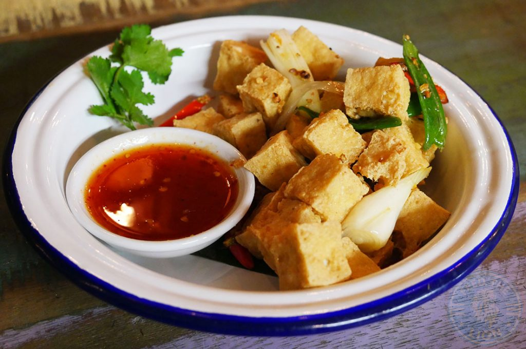 Ekachai South East Asian Kings Cross Chinese halal restaurant Tofu