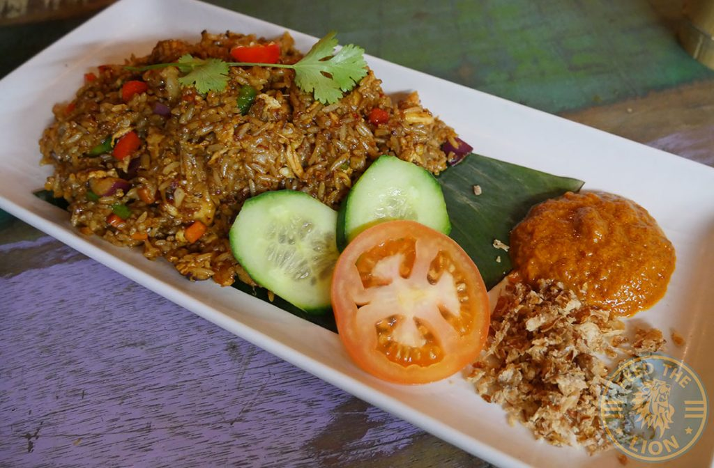 Ekachai South East Asian Kings Cross Chinese halal restaurant Nasi Goreng chicken