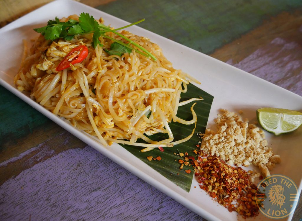 Pad Thai noodle Ekachai South East Asian Kings Cross Chinese halal restaurant