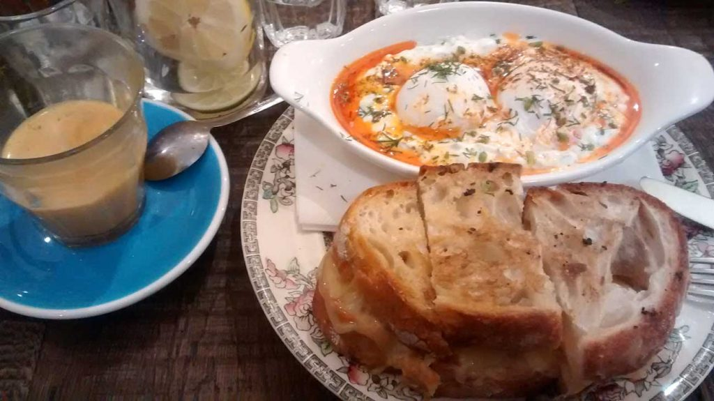 Egg Break Notting Hill London Turkish Eggs