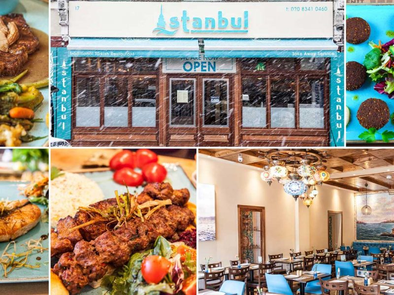 Istanbul Turkish Restaurant Hornsey Kebab Mezze