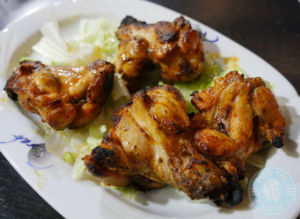 Chicken Wings KooKoo Grill Seafood Middle Eastern Persian Surbiton London