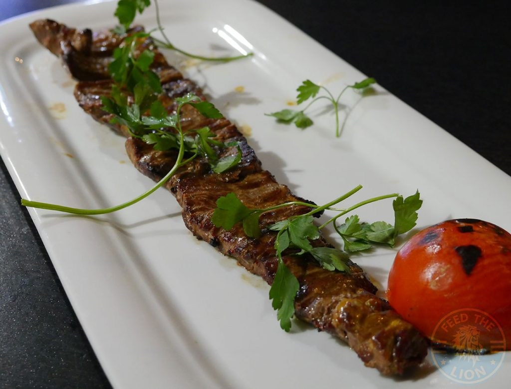 Lamb Fillet Steak Kebab KooKoo Grill Seafood Middle Eastern Persian Surbiton London