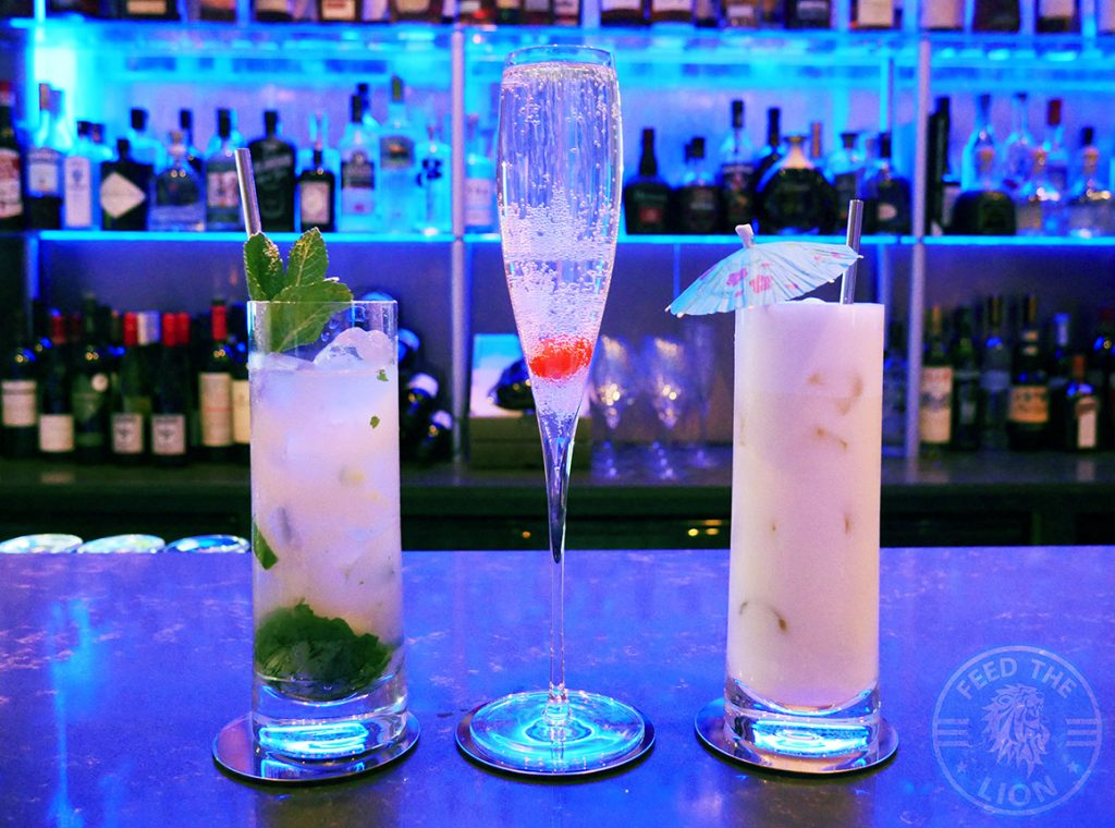 Beverage Drinks Mocktail Champagne Matsya Contemporary Fine Dining Mayfair Indian London Halal