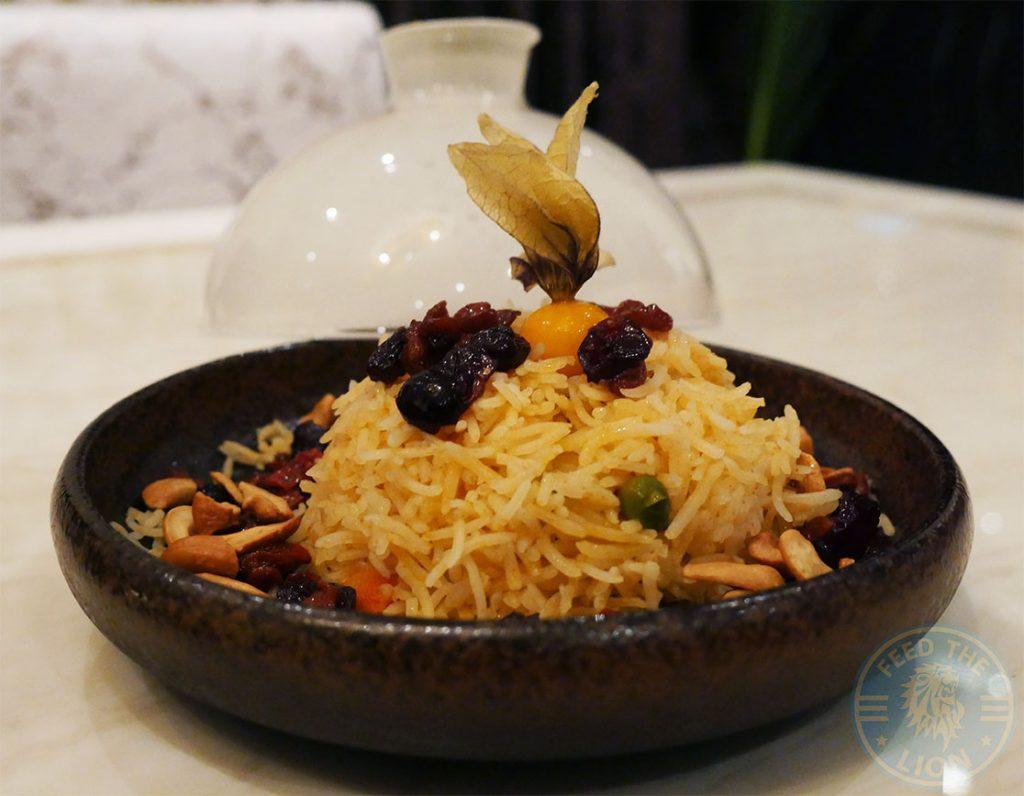 Rice Matsya Contemporary Fine Dining Mayfair Indian London Halal