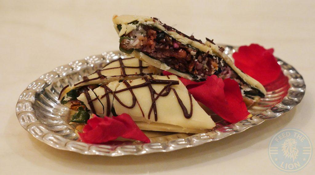 Dessert Matsya Contemporary Fine Dining Mayfair Indian London Halal