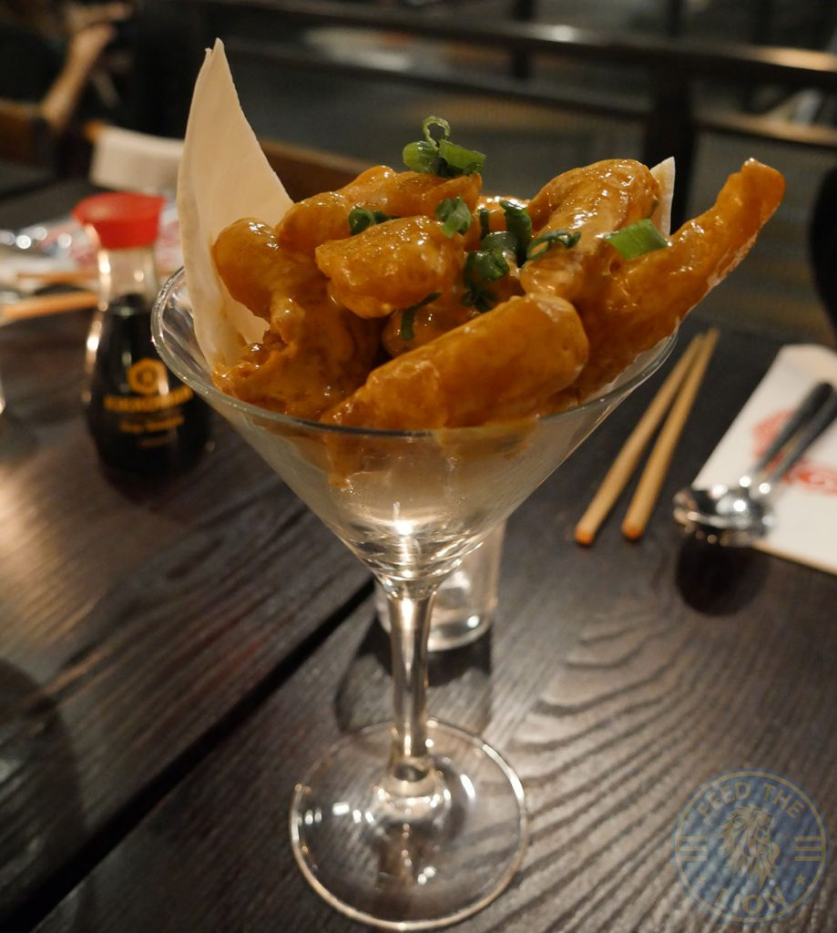 dynamite shrimp PF Chang's asian table London Halal Restaurant Leicester Square Food