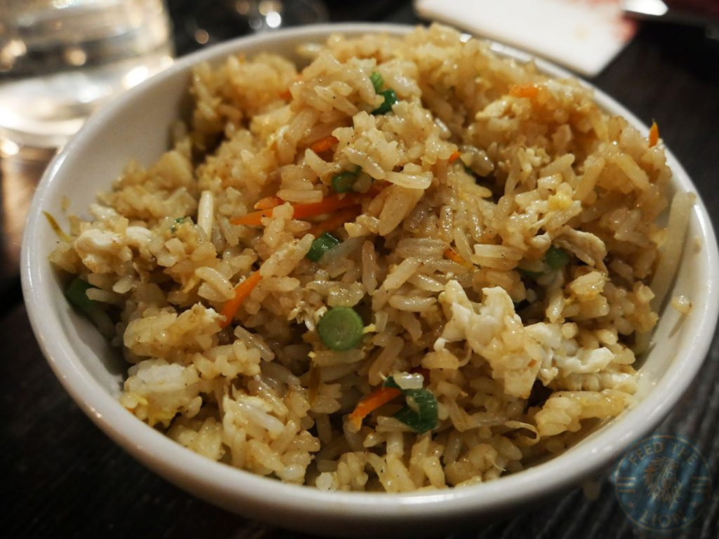 fried rice PF Chang's asian table London Halal Restaurant Leicester Square Food