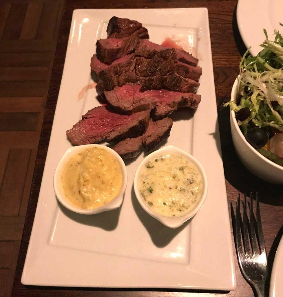 The Steak Restaurant Hatch End Rib Eye