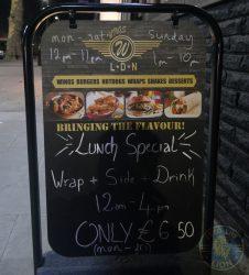 Wings London Ldn Hanwell Halal chicken restaurant
