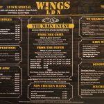 menu Wings London Ldn Hanwell Halal chicken restaurant