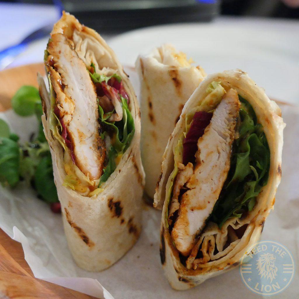 Wrap Wings London Ldn Hanwell Halal chicken restaurant