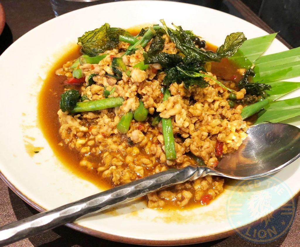 Patara Thai Soho Restaurant Halal Chicken