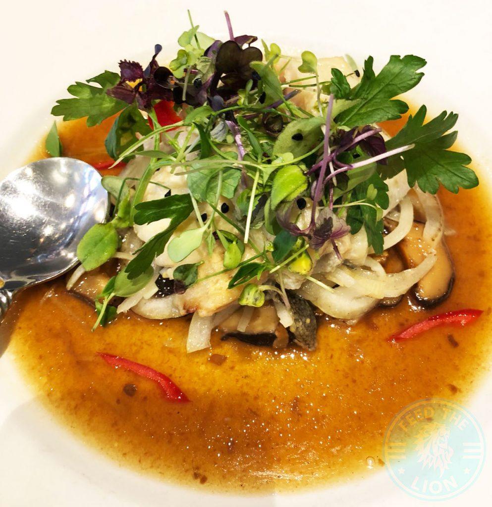 Patara Thai Soho Restaurant Halal Cod