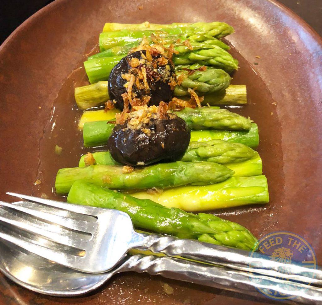 Patara Thai Soho Restaurant Halal Asparagus vegetarian