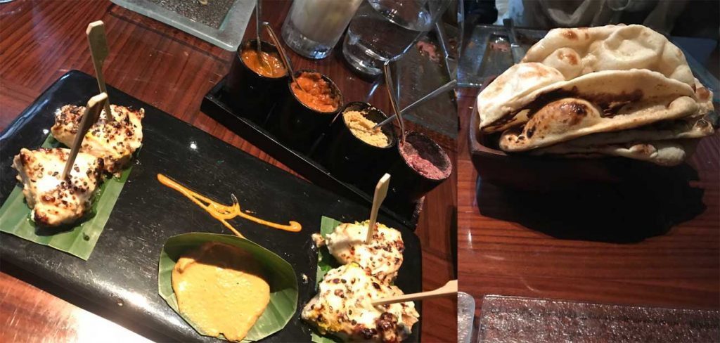 Chicken Tikka Amaya Michelin Star Indian Fine Dining London
