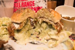 Vegi Burger, Billy and the chicks, Halal, free range, chicken, Soho, London, Dean Street, Restaurant, burger
