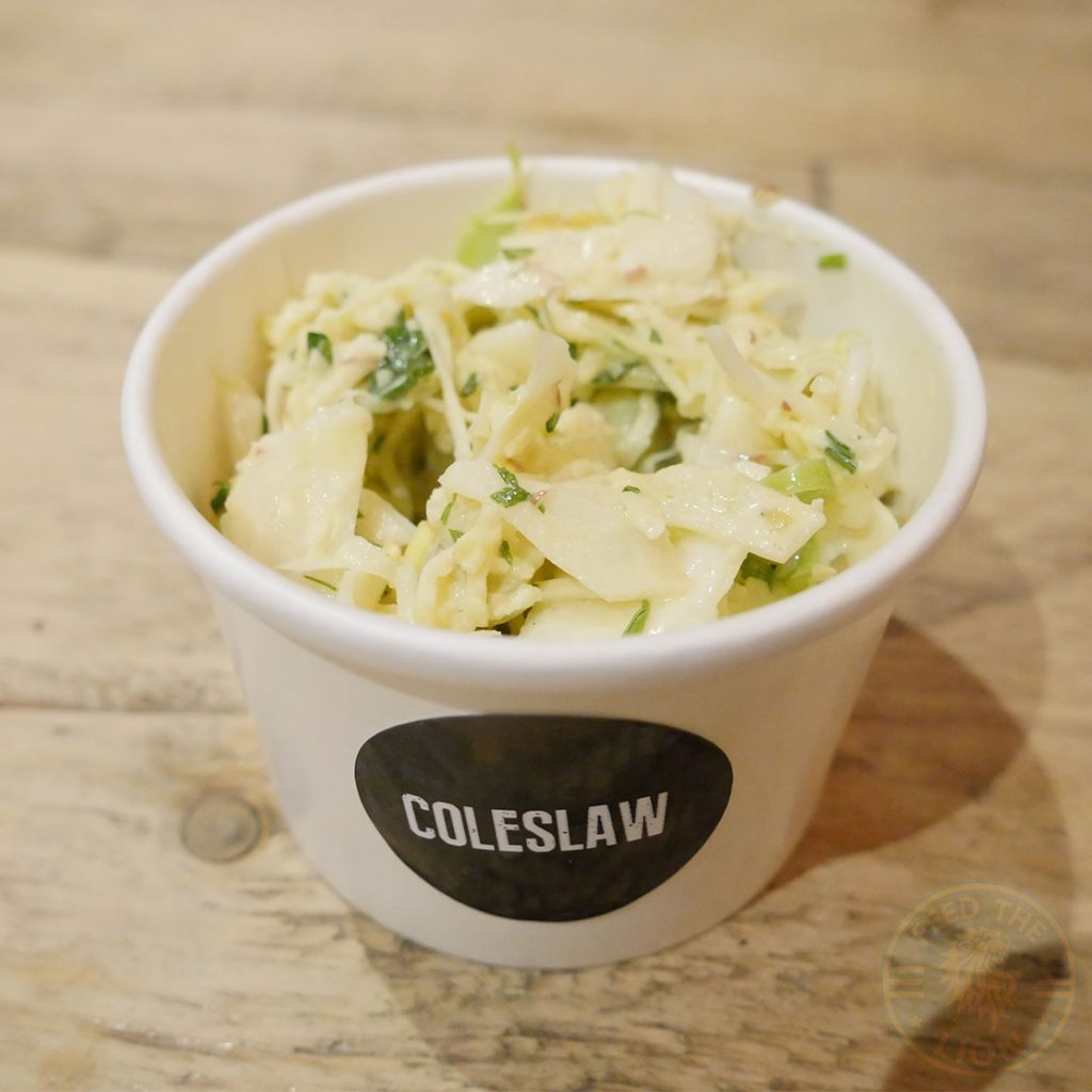 coleslaw, slaw, Billy and the Chicks, Halal, Chicken, free Range