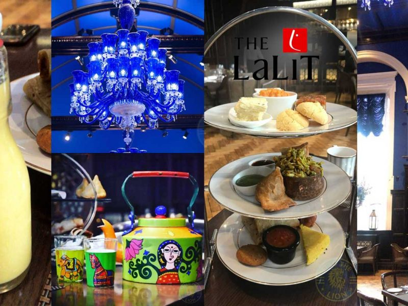 Baluchi The Lalit London Indian Afternoon Tea