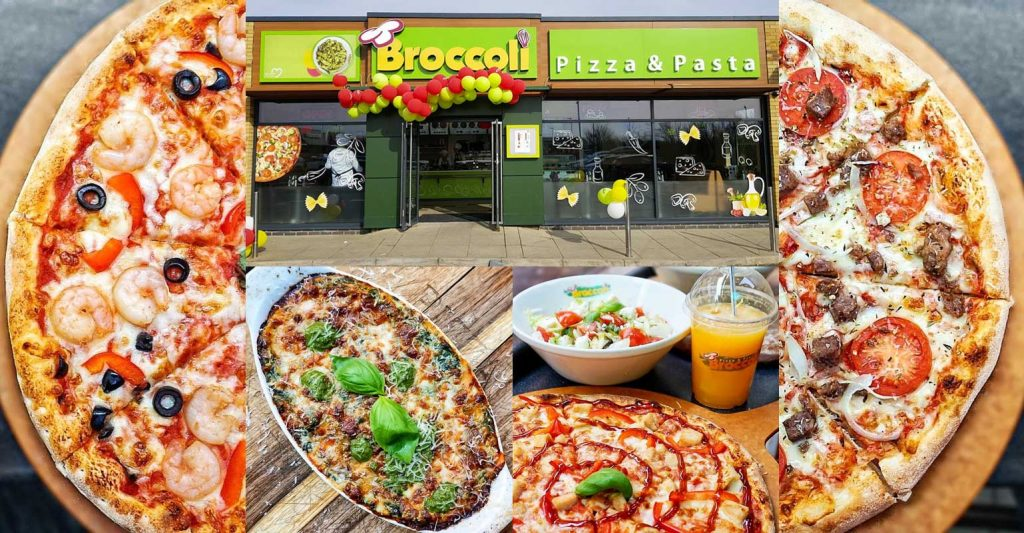 Broccoli Pizza & Pasta Cambridgeshire