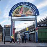 Mr Falafel New Shepherd's Bush Market London Palestinian Halal Wraps Sandwich