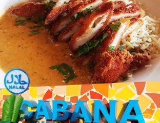 Cabana Halal Brasilian kids eat free holiday half term Halal menu