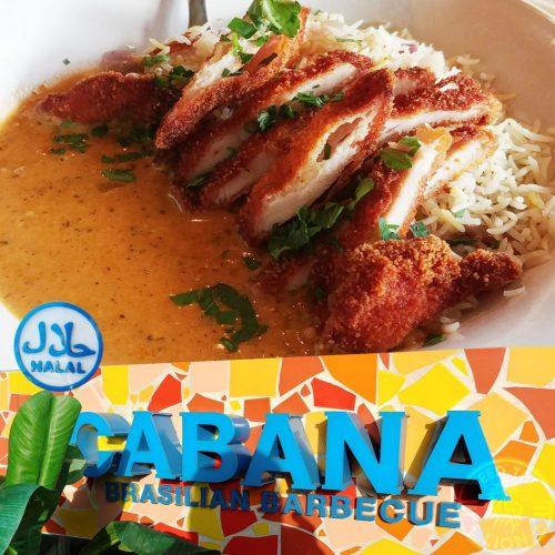 Cabana Halal Brasilian kids eat free holiday half term Halal menu
