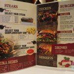 menu, burger, Chicago Steakhouse, Croydon, Halal, steak, restaurant, food, grass fed,
