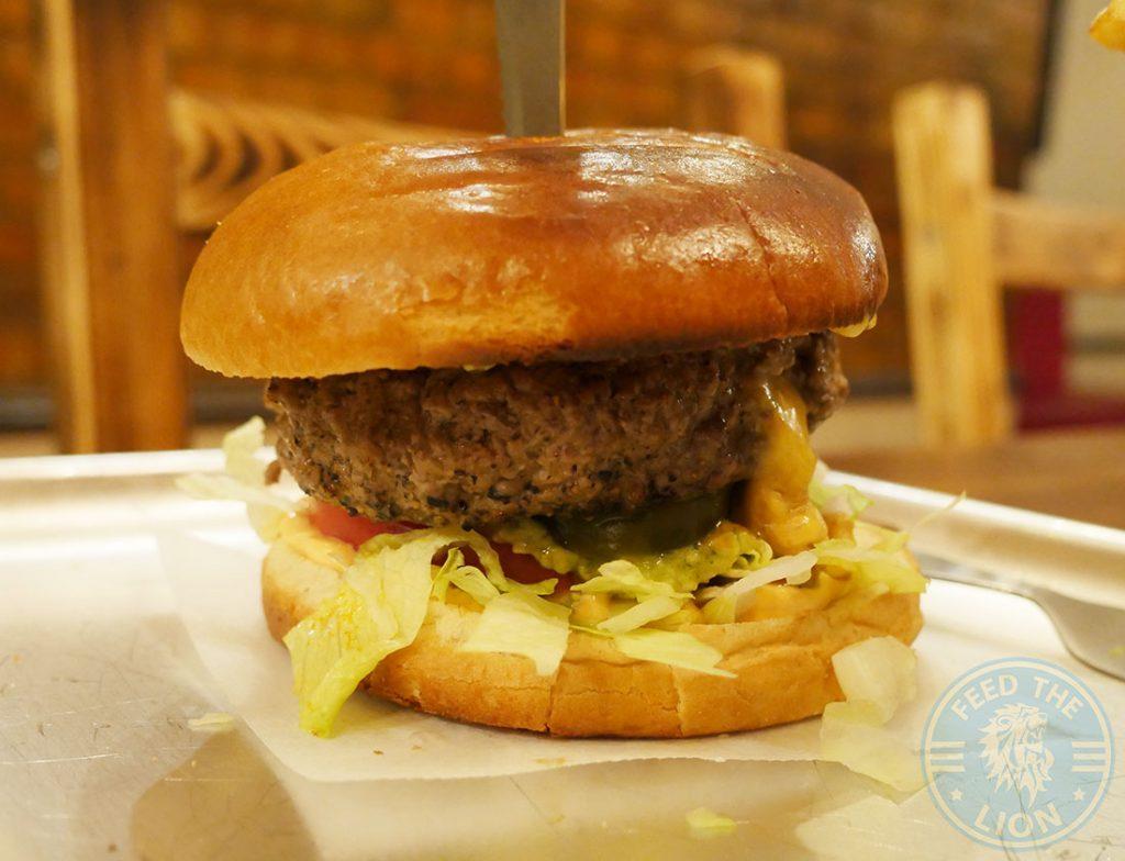 Burgers Dada's Diner Acton London American