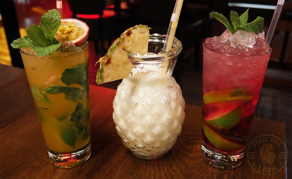 drinks mocktail Elvet steakhouse Romford East London Halal Food Wagyu Burger steak restaurant