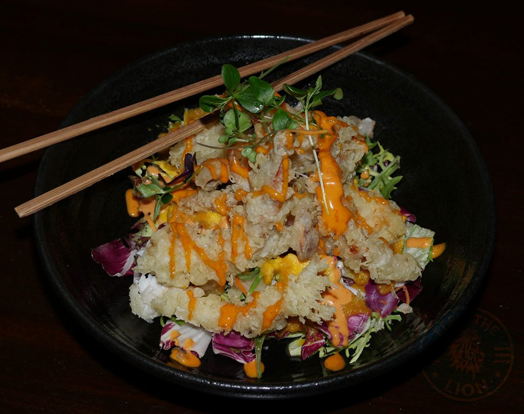crab salad C&R Izakaya Japanese London Halal Restaurant Bayswater