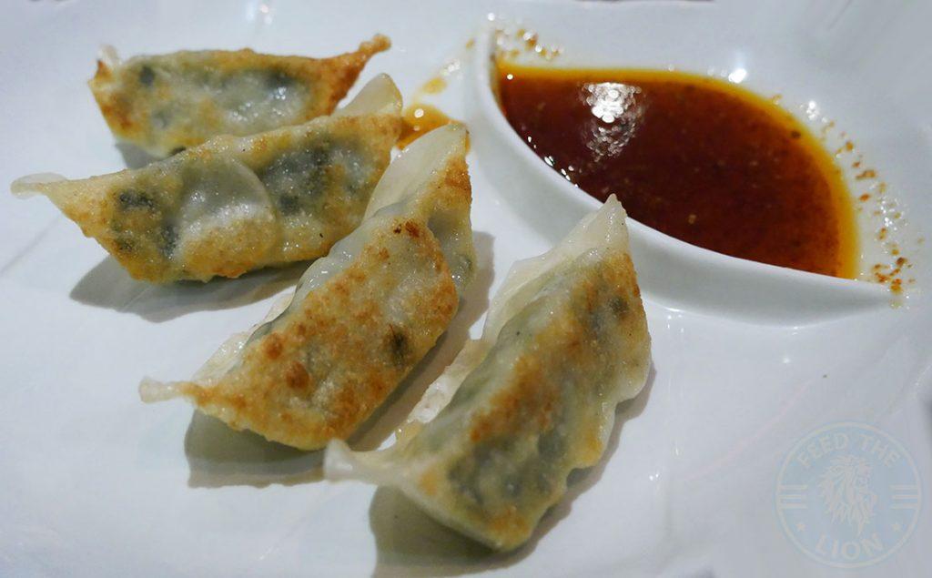 Gyoza dumpling C&R Izakaya Japanese London Halal Restaurant Bayswater