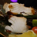 sea bass, fish, cod, C&R Izakaya Japanese London Halal Restaurant Bayswater