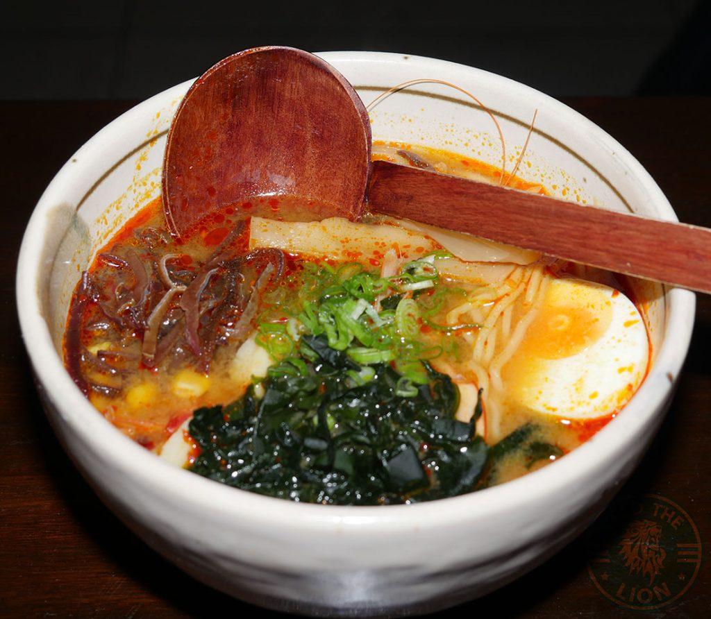 ramen seafood C&R Izakaya Japanese London Halal Restaurant Bayswater