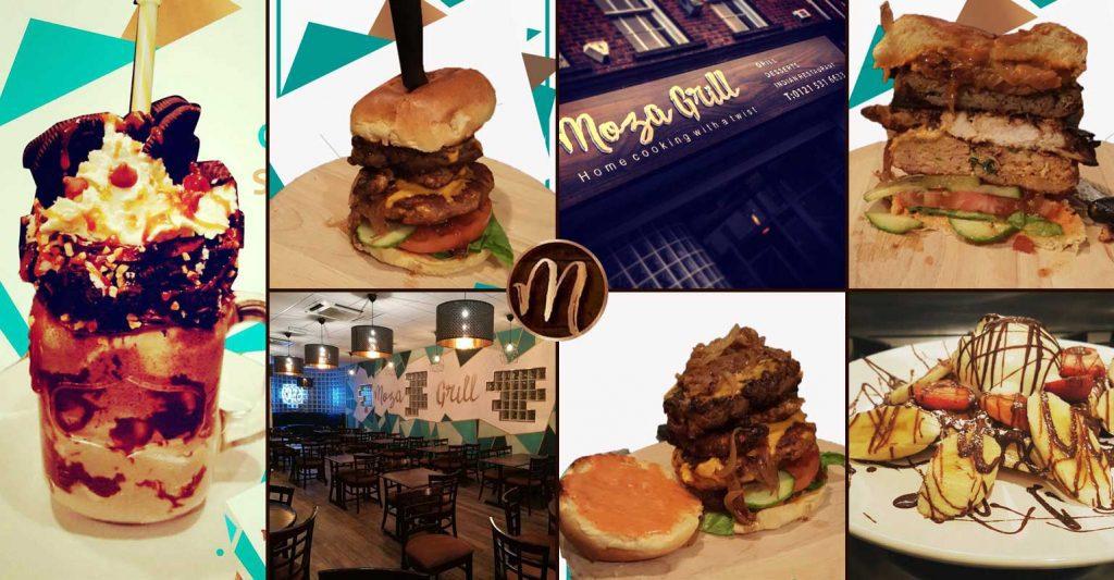 Moza Grill Indian Wednesbury Sandwell Burgers Desserts Shakes