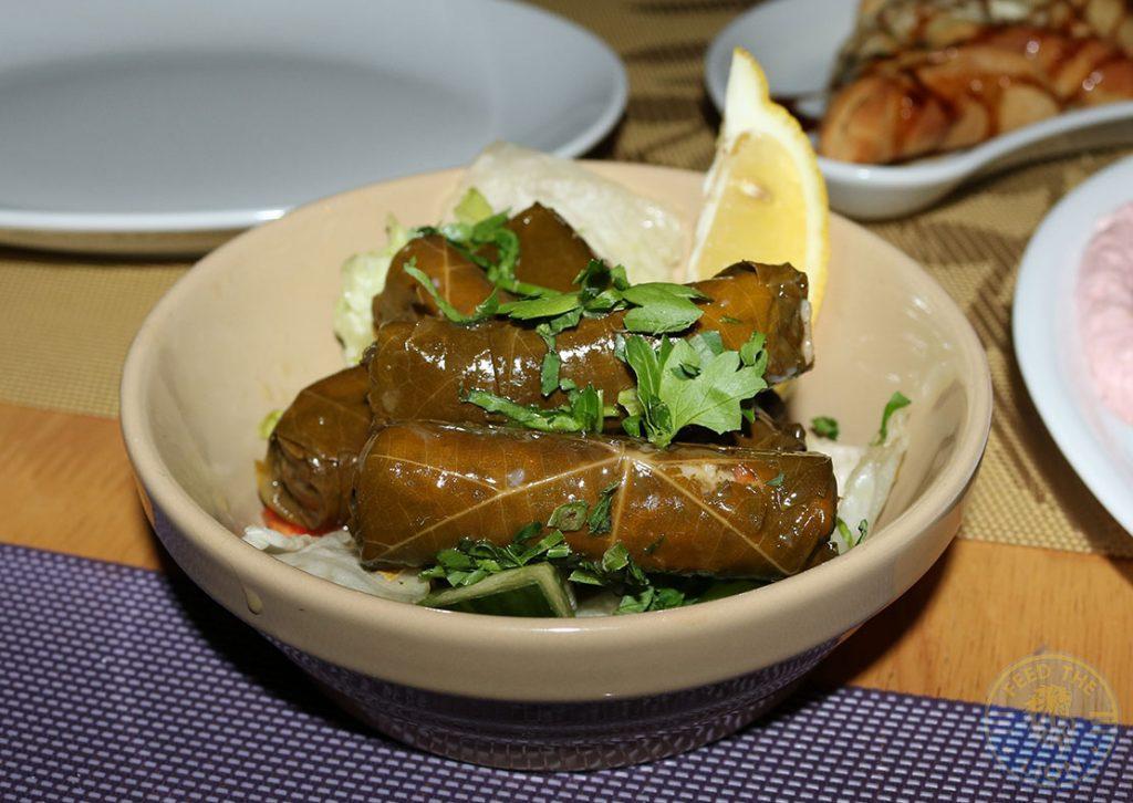 Vine Leaves Sofra Restaurant Mediterranean Greek Lebanese West Didsbury Manchester