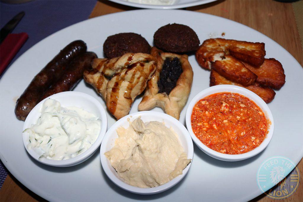 Hot Mezze Sofra Restaurant Mediterranean Greek Lebanese West Didsbury Manchester