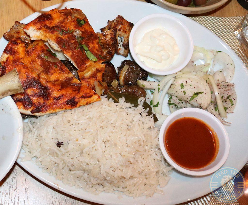 Mixed Grill Sofra Restaurant Mediterranean Greek Lebanese West Didsbury Manchester