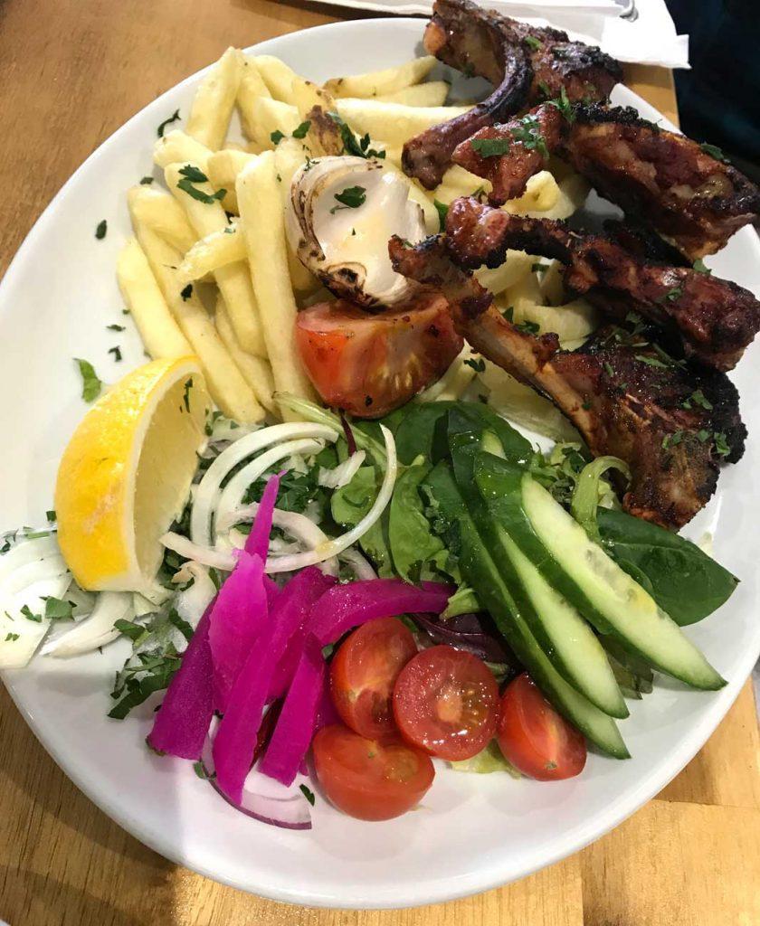Zouk Lounge Lebanese Wolverton Milton Keynes Lamb Chops