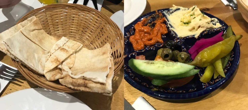 Zouk Lounge Lebanese Wolverton Milton Keynes Meze Bread