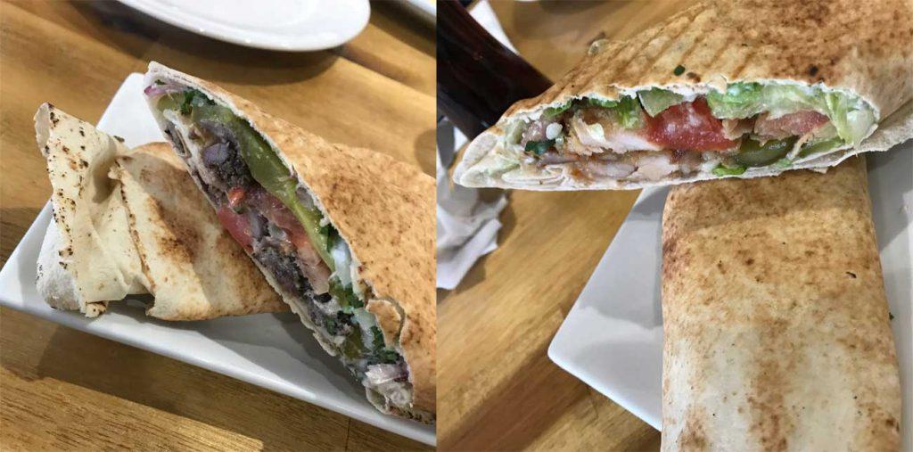Zouk Lounge Lebanese Wolverton Milton Keynes Wraps