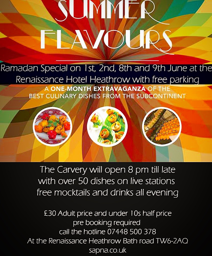 The carvery ramadan menu halal