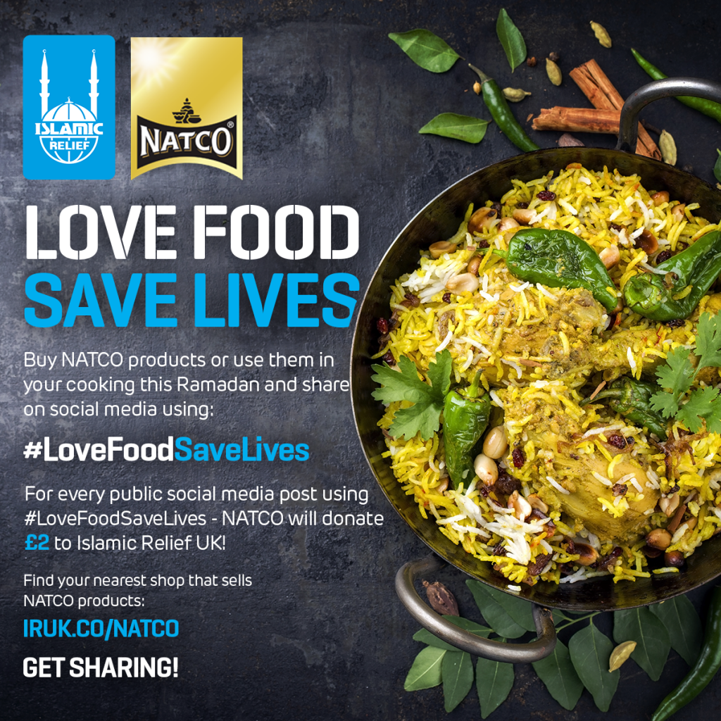 Islamic Relief Natco Ramadan Charity Food